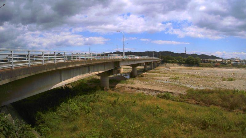 鏑川入野橋ライブカメラ(群馬県高崎市吉井町中島)