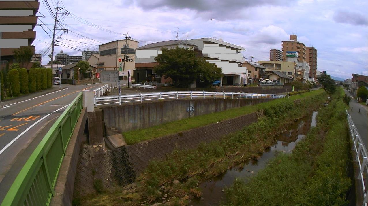 健軍川新外3号橋ライブカメラ(熊本県熊本市東区)