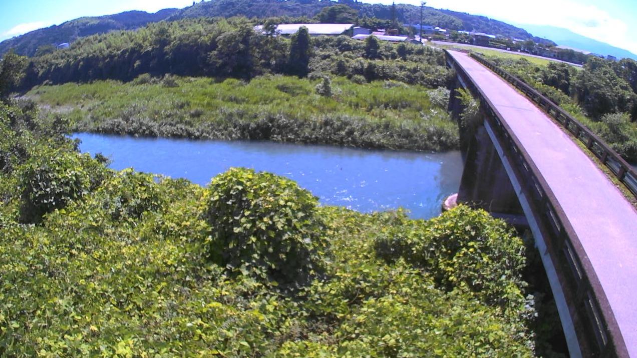 万江川上原田橋ライブカメラ(熊本県人吉市上原田町)