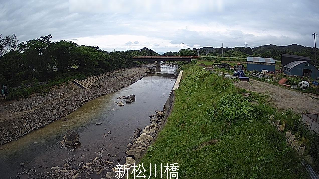 松川新松川橋ライブカメラ(岩手県八幡平市大更)