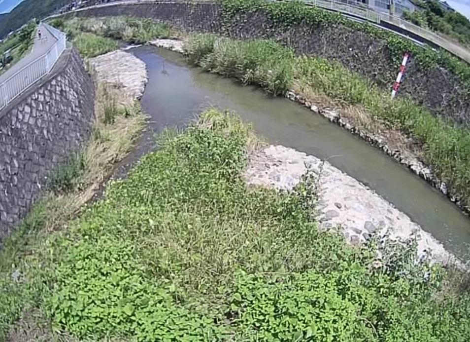 西川土井川合流点ライブカメラ(京都府亀岡市篠町柏原)