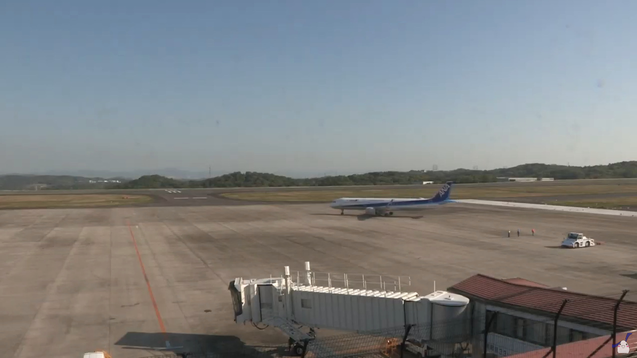 TSCテレビせとうち岡山空港ライブカメラ(岡山県岡山市北区)