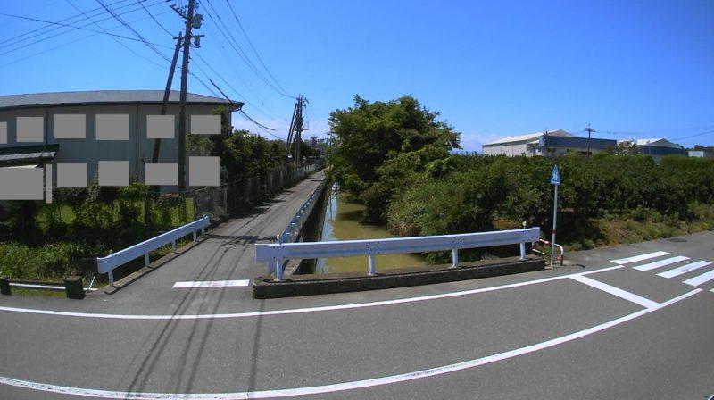 浦上川白水橋ライブカメラ(熊本県宇城市不知火町長崎)