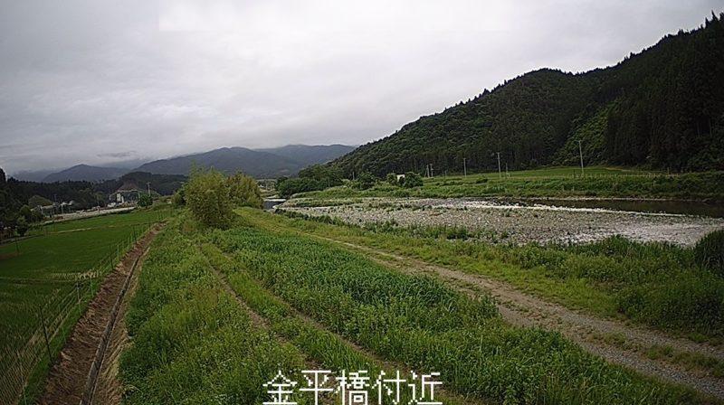 矢作川金平橋ライブカメラ(岩手県陸前高田市矢作町)