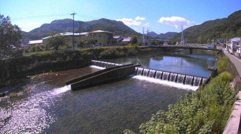 湯出川江南橋ライブカメラ(熊本県水俣市江南町)