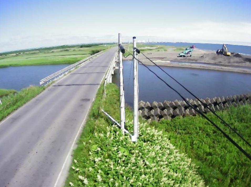安平川0.2KPライブカメラ(北海道苫小牧市弁天)