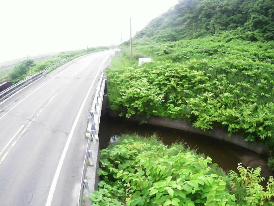 赤川0.2KPライブカメラ(北海道浦河町白泉)