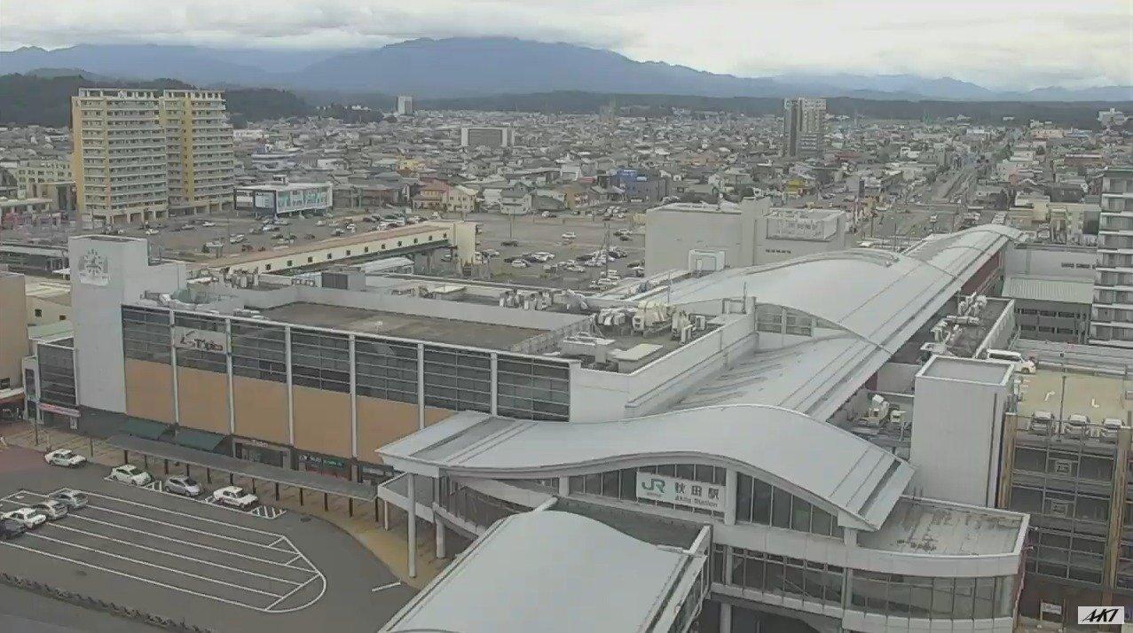 AKT秋田駅ライブカメラ(秋田県秋田市中通)
