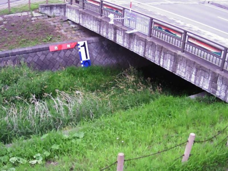 第二鈴蘭川1.2KPライブカメラ(北海道音更町木野西通)