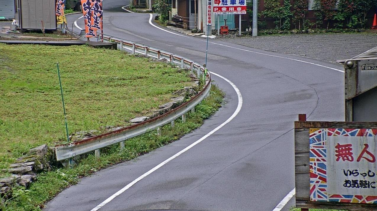 愛媛県道12号西条久万線ライブカメラ(愛媛県西条市西之川)