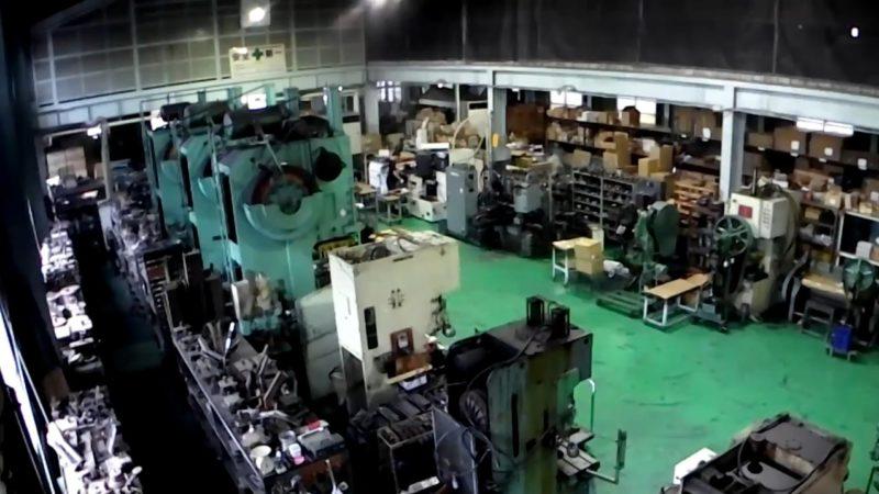 藤田金属キッチン用品製造工場ライブカメラ(大阪府八尾市西弓削)