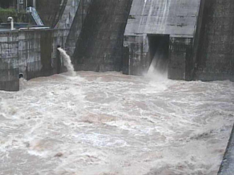 氷川ダム洪水吐ライブカメラ(熊本県八代市泉町下岳)