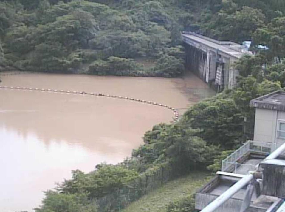 氷川ダム堤体上流側ライブカメラ(熊本県八代市泉町下岳)