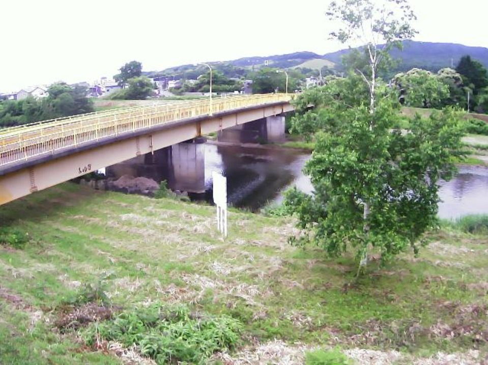 胆振幌別川来福橋ライブカメラ(北海道登別市桜木町)