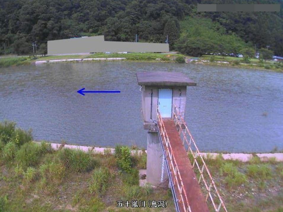 五十嵐川島潟ライブカメラ(新潟県三条市高岡)