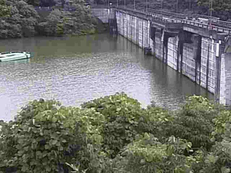 石打ダム堤体上流側ライブカメラ(熊本県宇城市三角町中村)