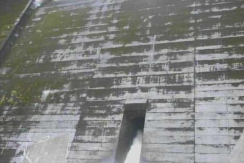 亀川ダム洪水吐ライブカメラ(熊本県天草市枦宇土町)