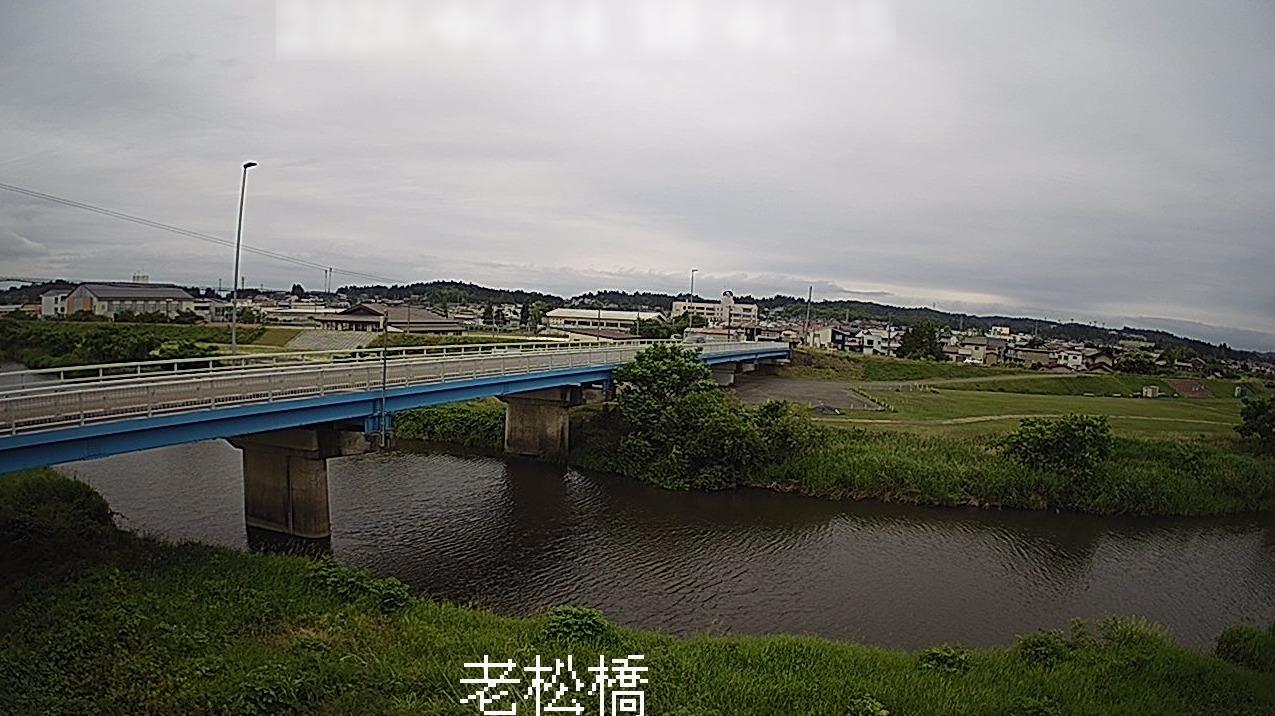金流川老松橋ライブカメラ(岩手県一関市花泉町老松)