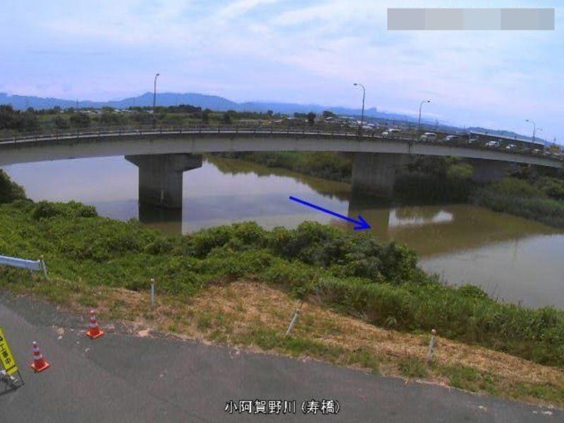 小阿賀野川寿橋ライブカメラ(新潟県新潟市江南区)