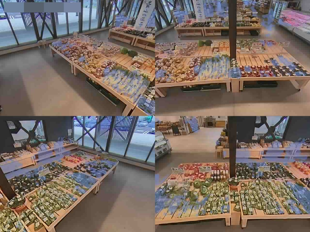農産物直売所マルシェ黒耀第1ライブカメラ(長野県長和町古町)