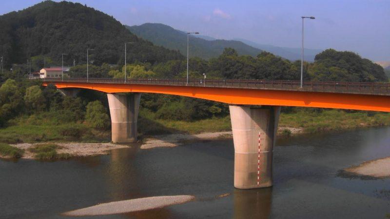 宮川内城田大橋ライブカメラ(三重県度会町棚橋)
