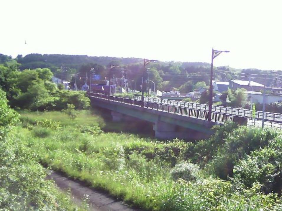 南部陣屋川1.1KPライブカメラ(北海道長万部町陣屋町)