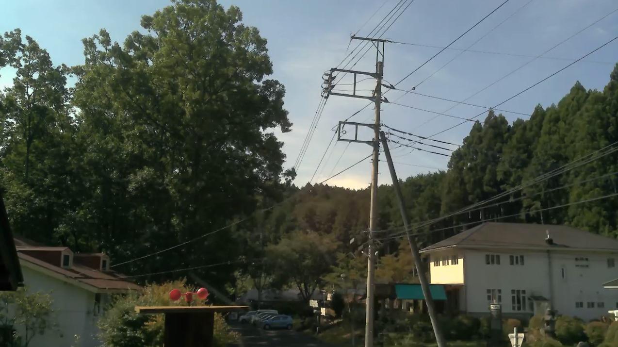 那須自然村ライブカメラ(栃木県那須町富岡)