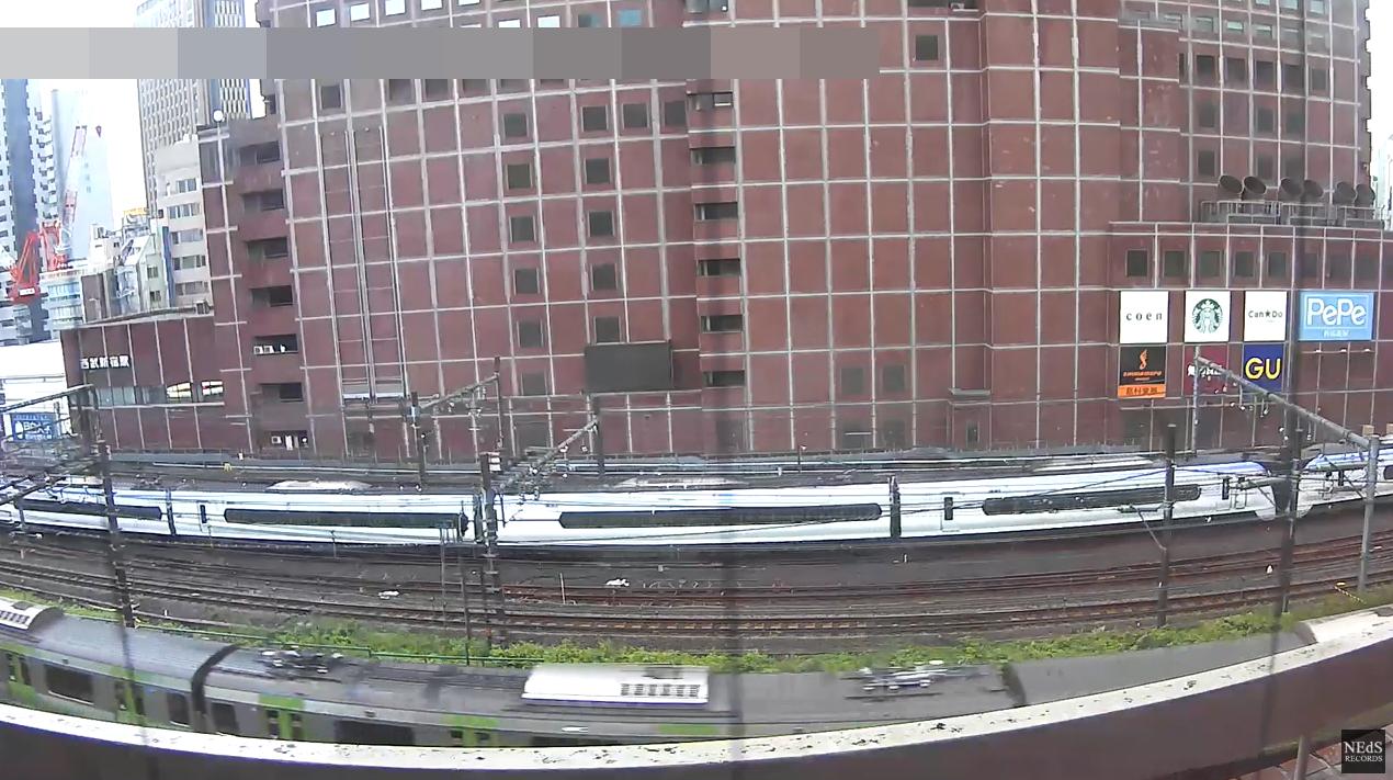 NEdS新宿駅付近鉄道定点第2ライブカメラ(東京都新宿区西新宿)