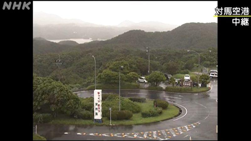 NHK対馬空港ライブカメラ(長崎県対馬市美津島町鷄知)