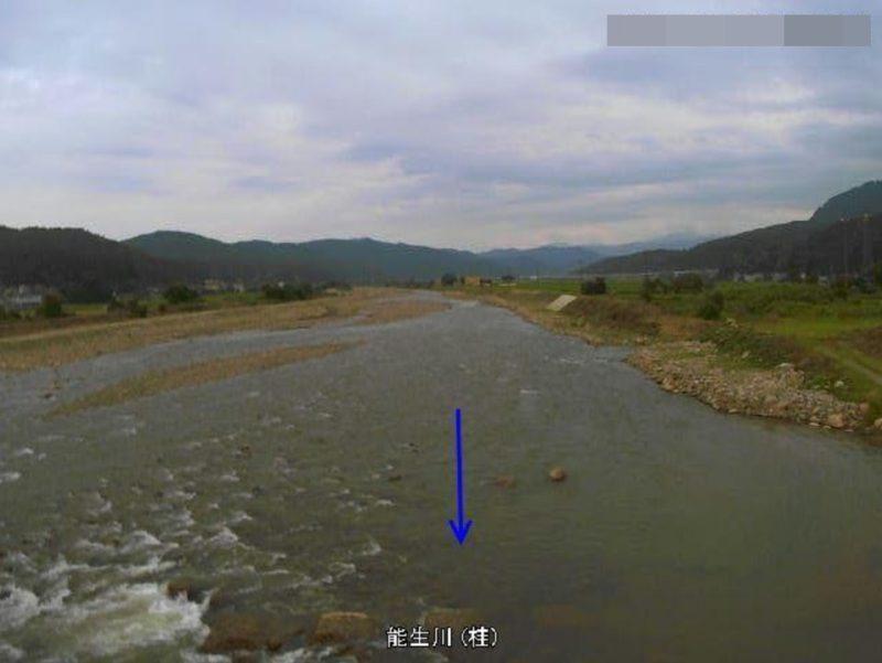 能生川桂ライブカメラ(新潟県糸魚川市桂)