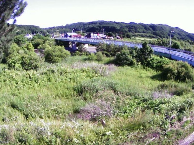 額平川7.6KPライブカメラ(北海道平取町貫気別)