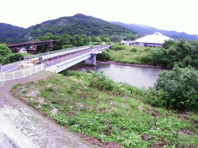 貫気別川0.2KPライブカメラ(北海道豊浦町高岡)
