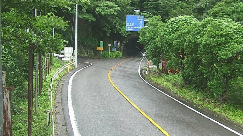 国道319号堀切トンネルライブカメラ(愛媛県四国中央市新宮町新宮)