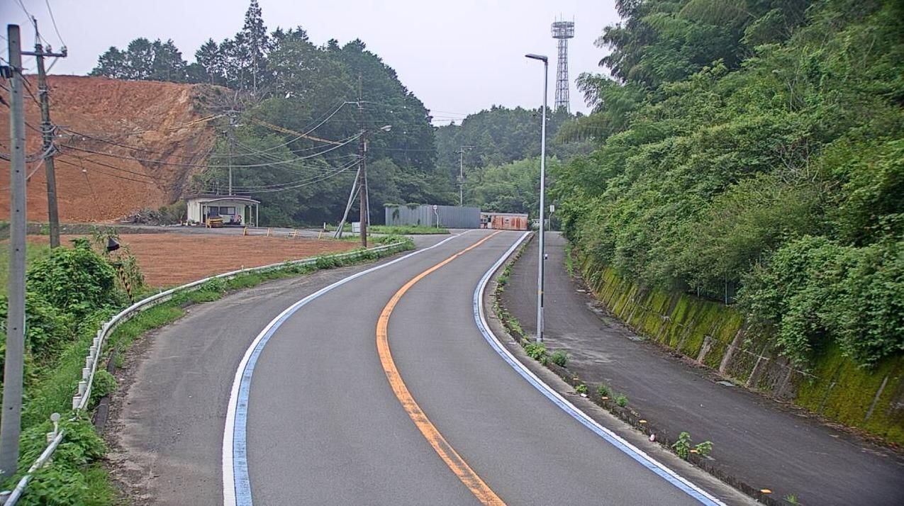 国道381号出目ライブカメラ(愛媛県鬼北町出目)