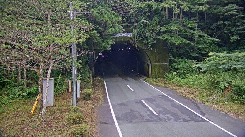 国道441号白髭トンネル大洲市側ライブカメラ(愛媛県大洲市梅川)