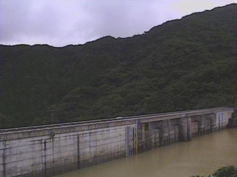 路木ダム堤体上流側ライブカメラ(熊本県天草市河浦町路木)
