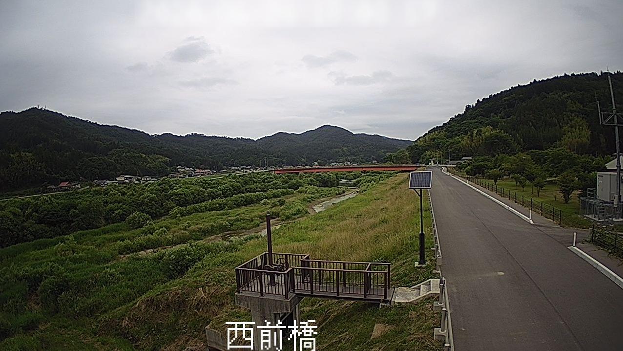 砂鉄川西前橋ライブカメラ(岩手県一関市東山町松川)