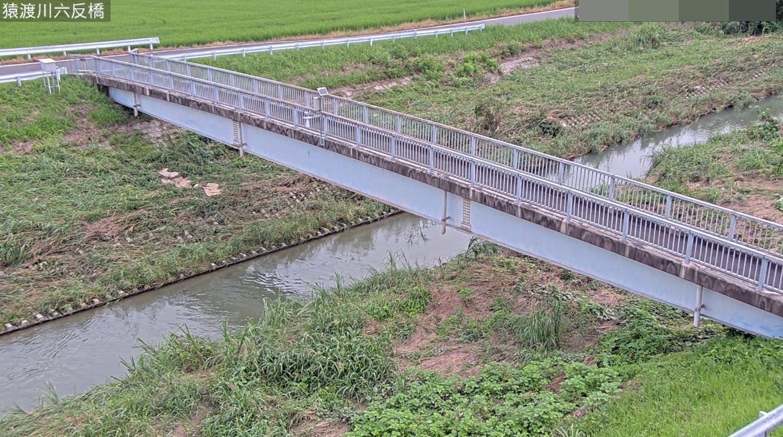 猿渡川六反橋ライブカメラ(愛知県知立市牛田町)