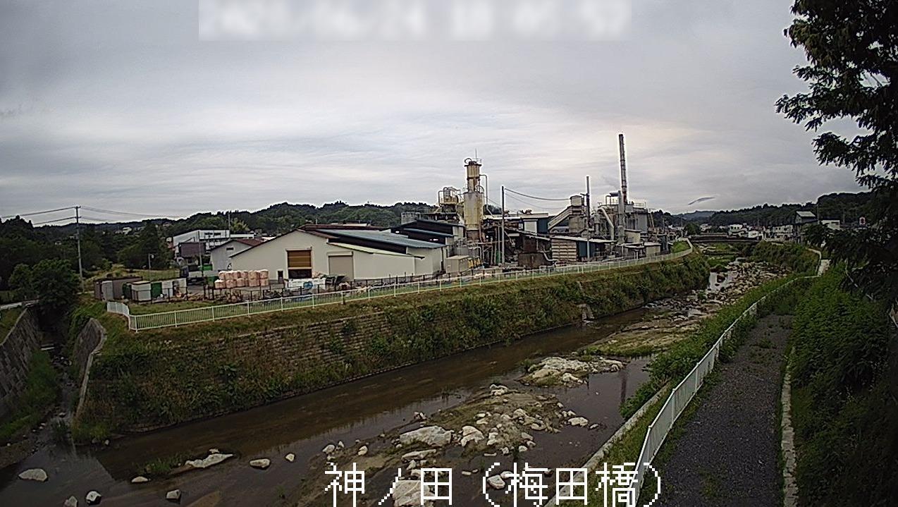 千厩川神ノ田梅田橋ライブカメラ(岩手県一関市千厩町千厩)
