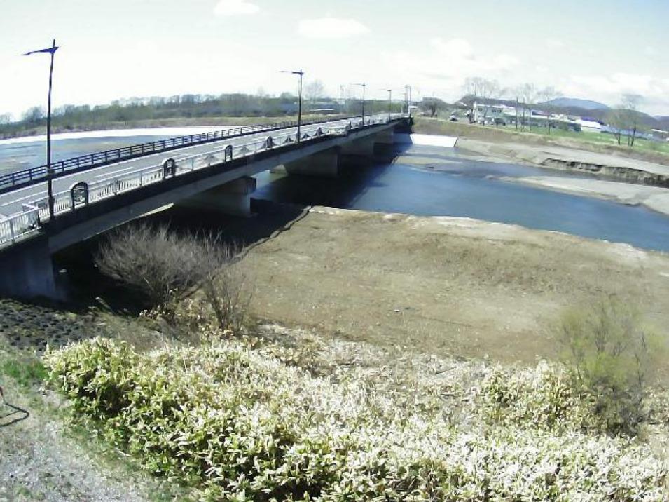 白老川1.6KPライブカメラ(北海道白老町本町)