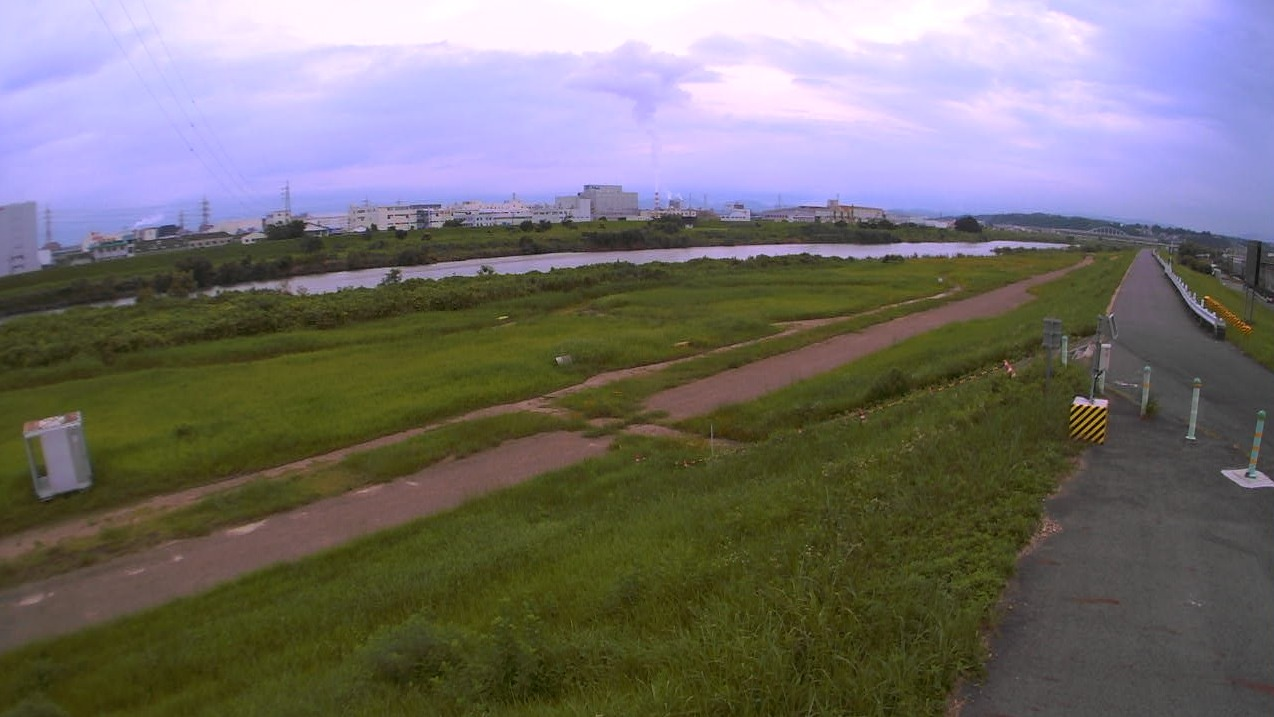 庄内川23.8KP左岸ライブカメラ(愛知県名古屋市守山区)