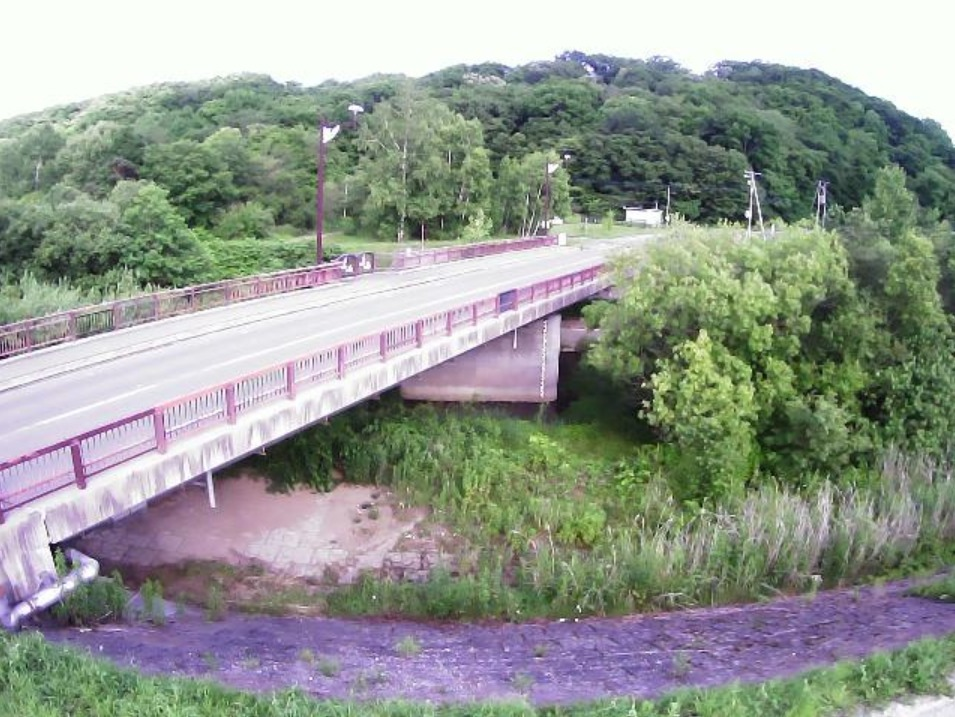 途別川1.3KPライブカメラ(北海道幕別町札内あかしや町)