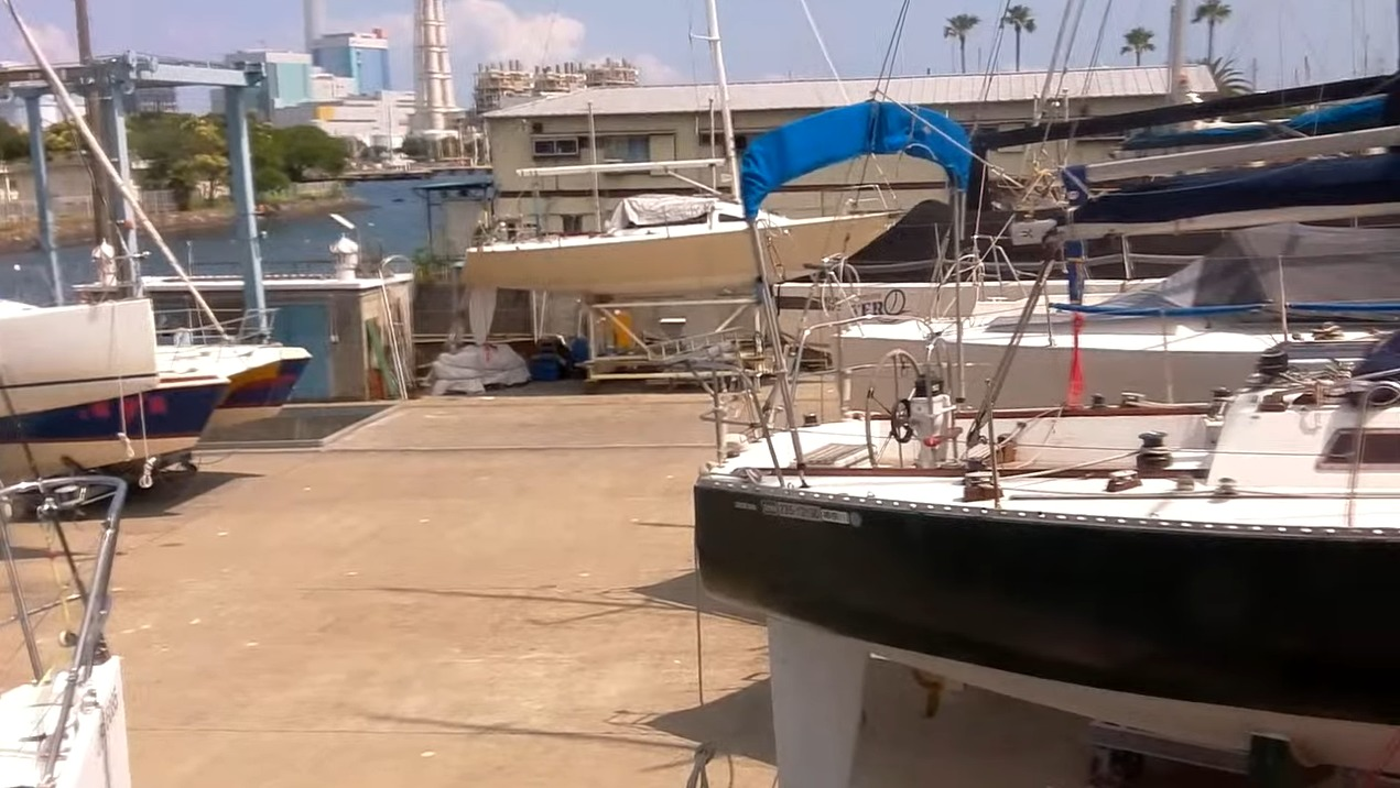 横浜ヨット協会ライブカメラ(神奈川県横浜市磯子区)