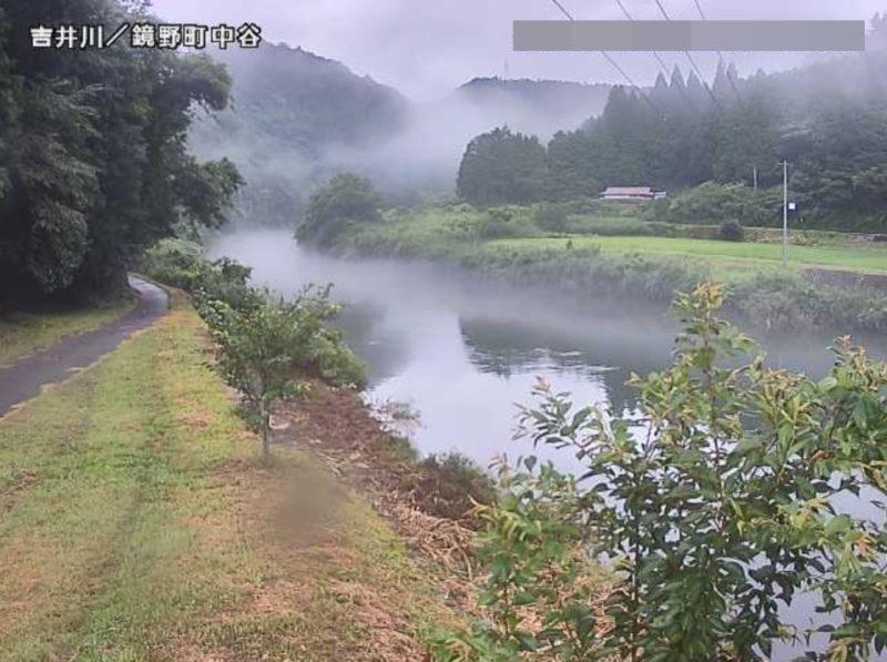 吉井川中谷ライブカメラ(岡山県鏡野町中谷)