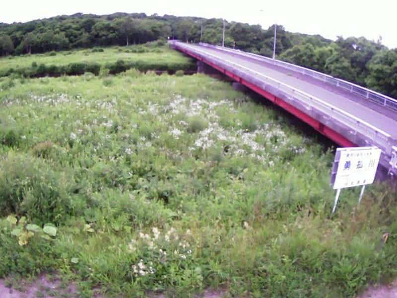 勇払川6.7KPライブカメラ(北海道苫小牧市柏原)