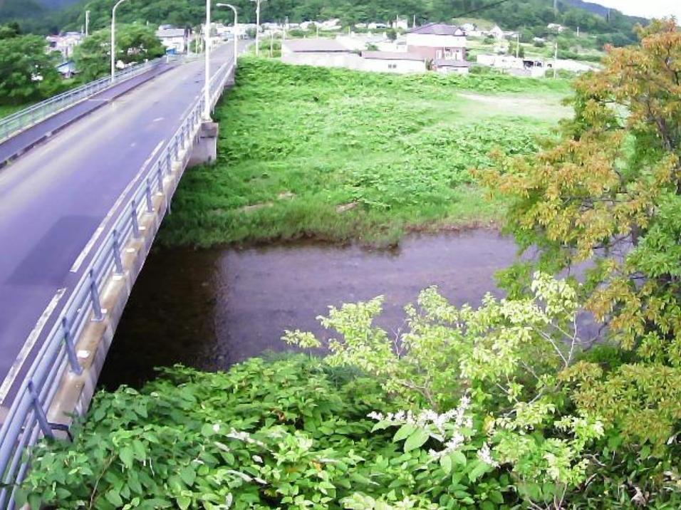 天野川16.6KPライブカメラ(北海道上ノ国町湯ノ岱)
