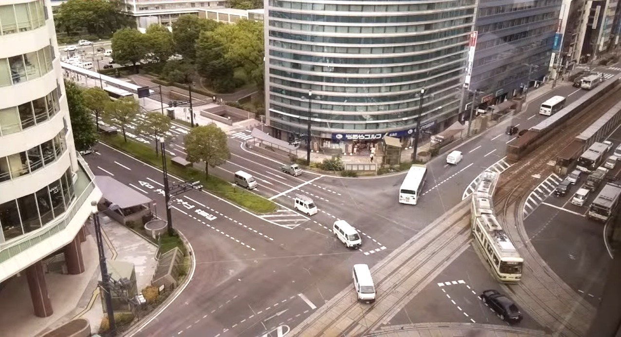 ambient2step広島市紙屋町交差点ライブカメラ(広島県広島市中区)