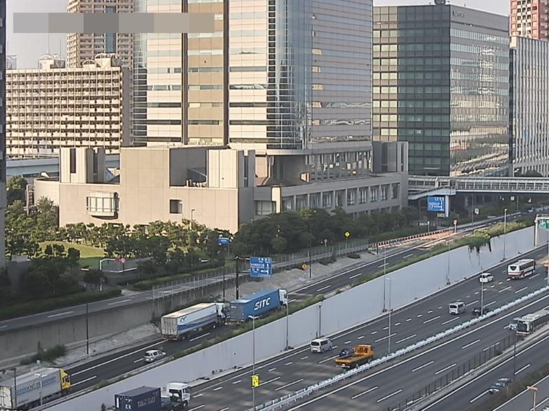 青海埠頭国道357号辰巳方面ライブカメラ(東京都江東区青海)
