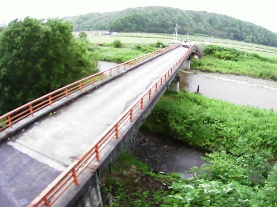 恵岱別川5.5KPライブカメラ(北海道雨竜町桂の沢)