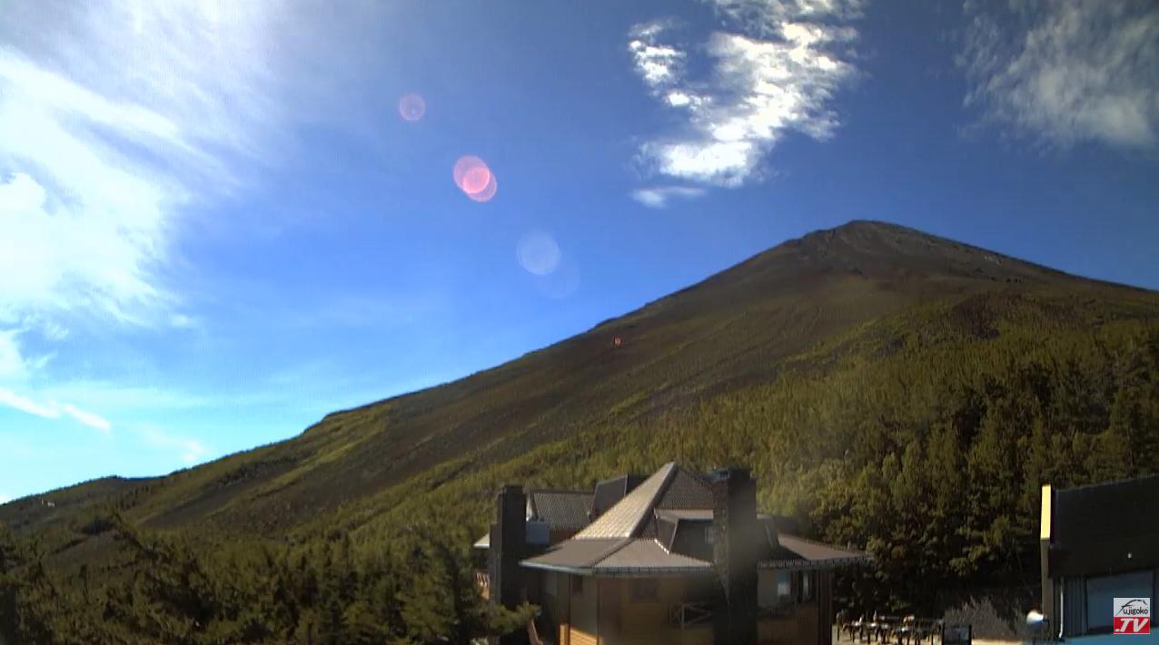 富士五湖TV富士山5合目ライブカメラ(山梨県鳴沢村)